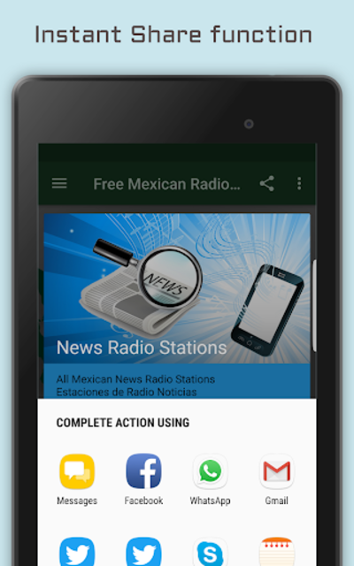 Mexican Radio Stations - Music & News screenshot 14