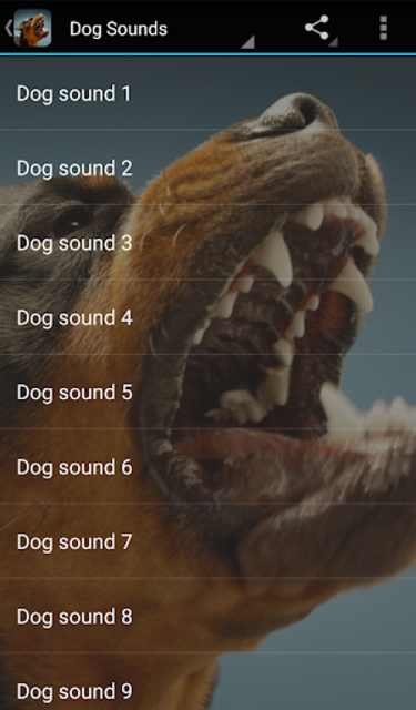 Dog Sounds screenshot 1