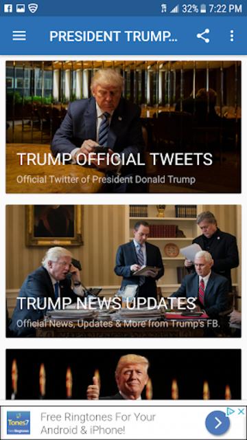 PRESIDENT TRUMP NEWS screenshot 2