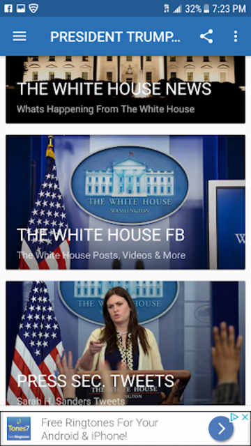 PRESIDENT TRUMP NEWS screenshot 3