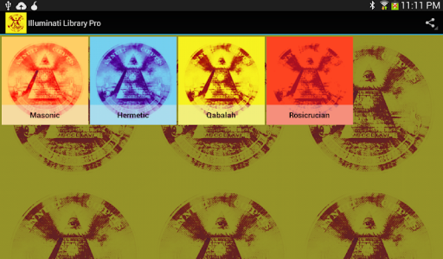 Illuminati Library & Chatroom Pro screenshot 7