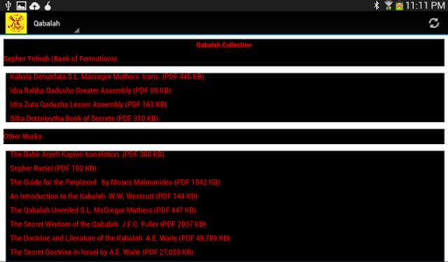 Illuminati Library & Chatroom Pro screenshot 13