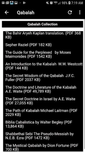 Illuminati Library & Chatroom Pro screenshot 4