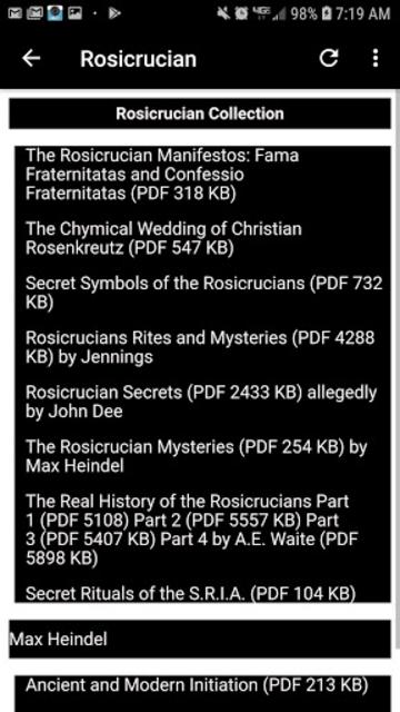 Illuminati Library & Chatroom Pro screenshot 5