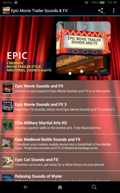 Epic Movie Trailer Sounds & FX screenshot 5