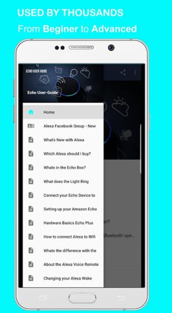 User Guide for Amazon Echo screenshot 1