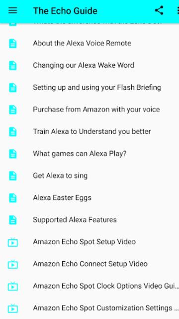 User Guide for Amazon Echo screenshot 4