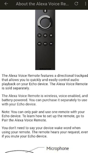 User Guide for Amazon Echo screenshot 5