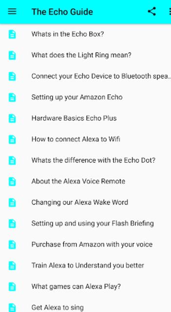 User Guide for Amazon Echo screenshot 6