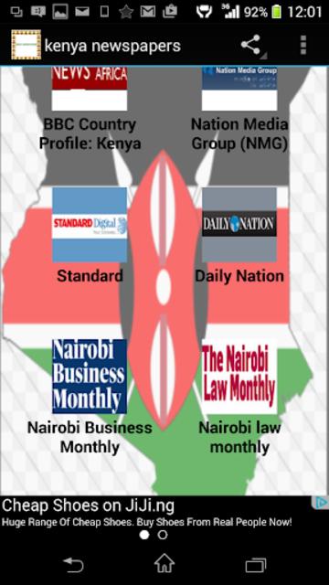 kenya newspapers screenshot 3
