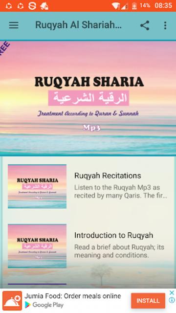 Ruqyah Al Shariah Mp3