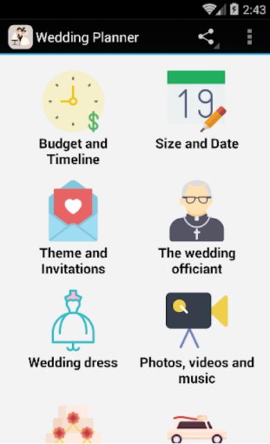Wedding Planner screenshot 1