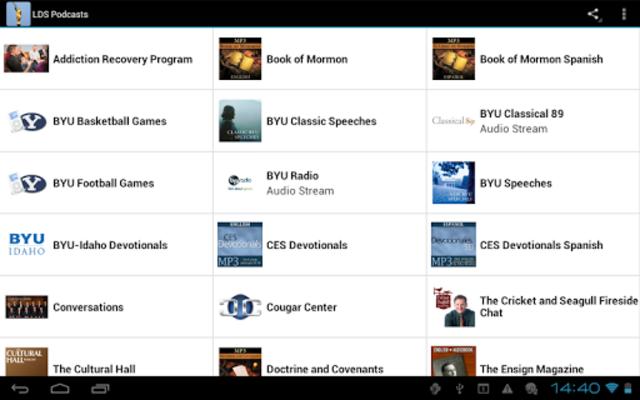 LDS Podcasts screenshot 8