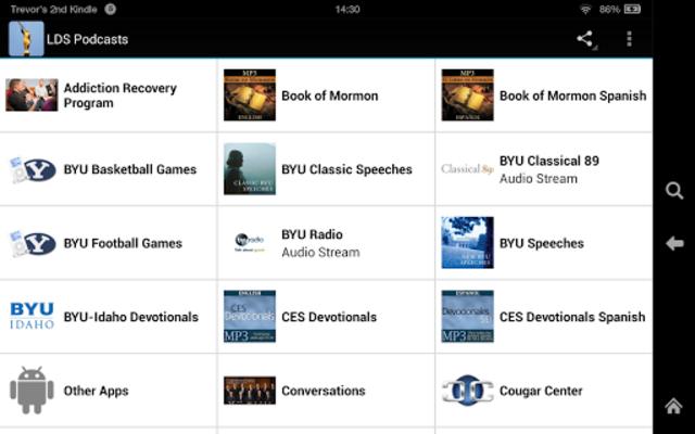 LDS Podcasts screenshot 9