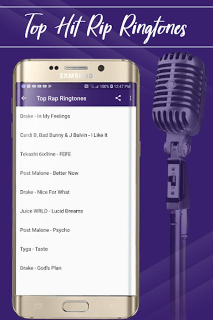 Best Rap Ringtones screenshot 1