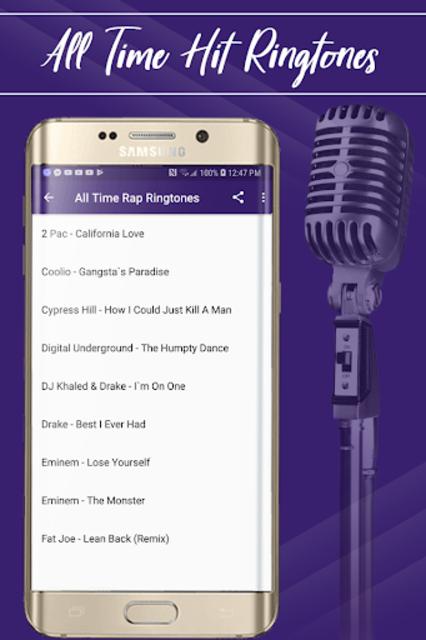 Best Rap Ringtones screenshot 2