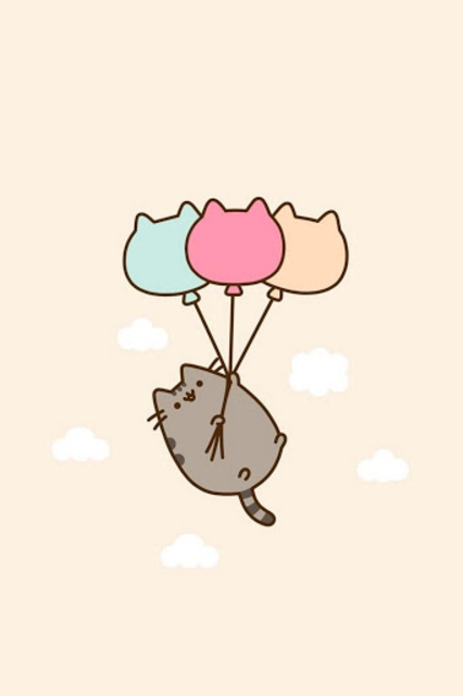Cute Pusheen Cat wallpaper HD screenshot 1 ...