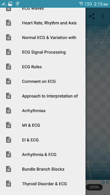 A to Z ECG Interpretation screenshot 1