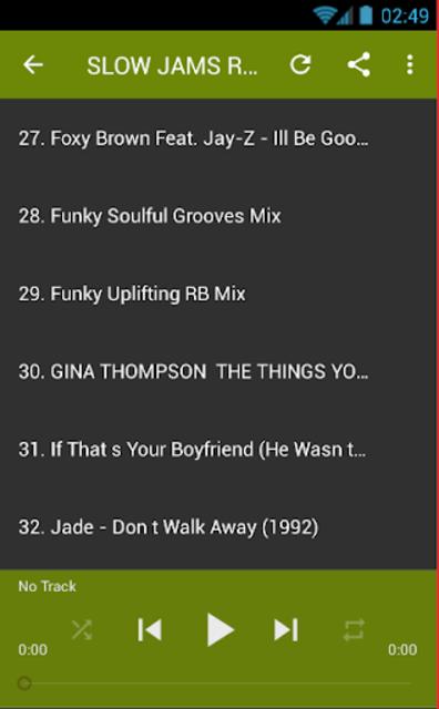 SLOW JAMS R&B SOUL MIX screenshot 2