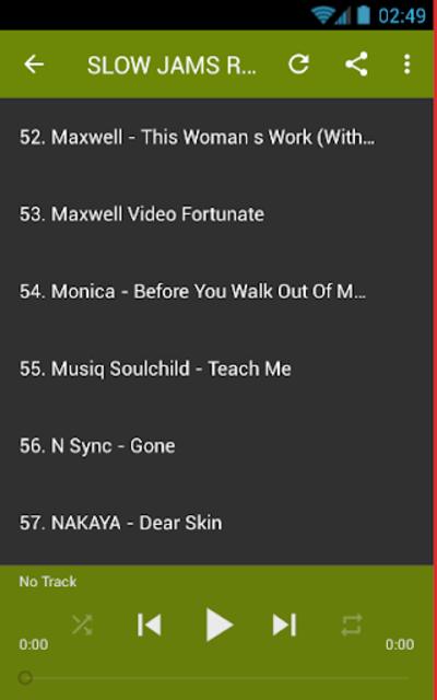 SLOW JAMS R&B SOUL MIX screenshot 3