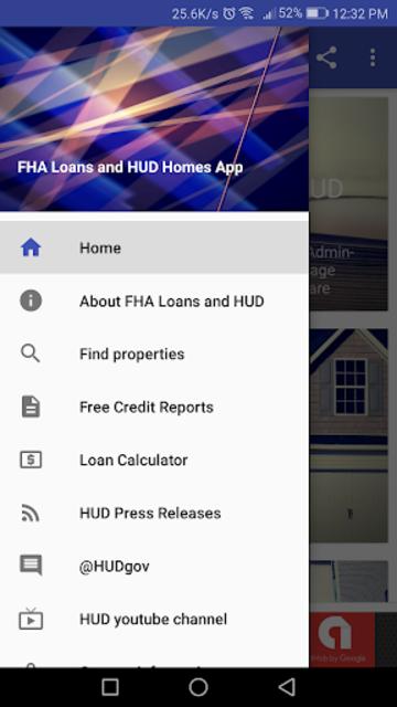 FHA Loans and HUD Homes screenshot 1