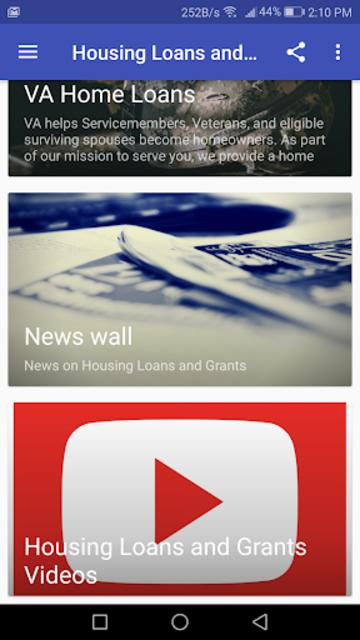 Housing Loans and Grants screenshot 3