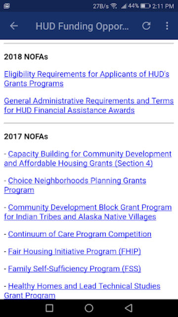 Housing Loans and Grants screenshot 4