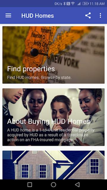 HUD Homes screenshot 2