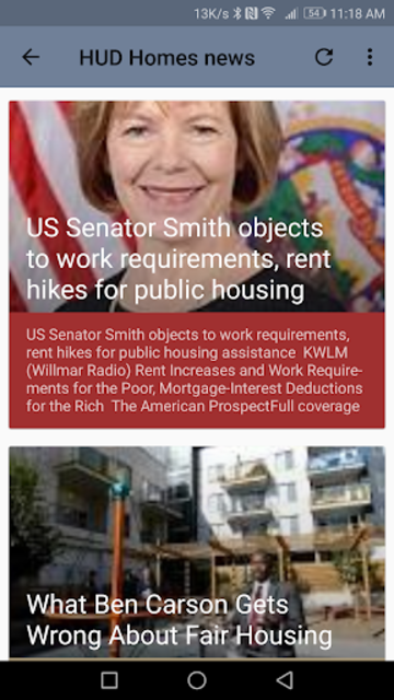 HUD Homes screenshot 5