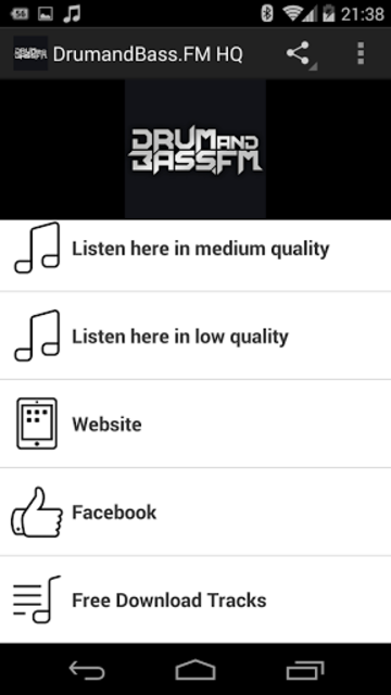 DrumandBass.FM HQ screenshot 1