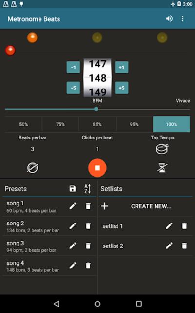 Metronome Beats Pro screenshot 9