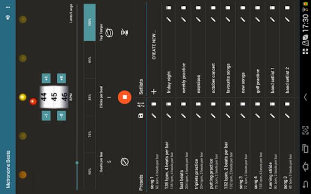 Metronome Beats Pro screenshot 8