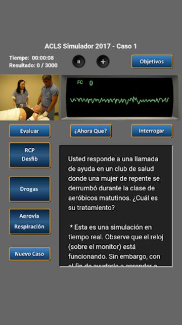 ACLS Simulador 2017 screenshot 1