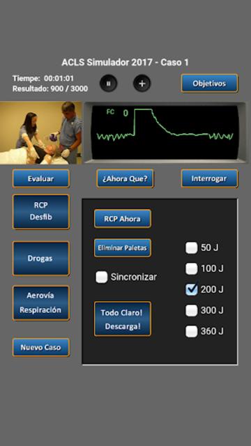 ACLS Simulador 2017 screenshot 3