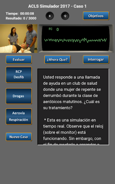 ACLS Simulador 2017 screenshot 8