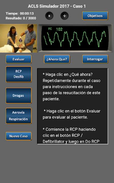 ACLS Simulador 2017 screenshot 9