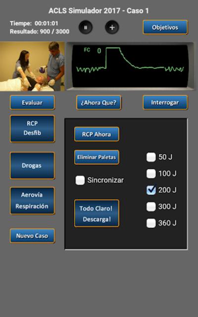ACLS Simulador 2017 screenshot 10