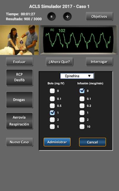 ACLS Simulador 2017 screenshot 11