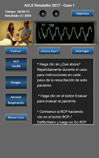 ACLS Simulador 2017 screenshot 16