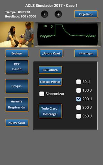 ACLS Simulador 2017 screenshot 17