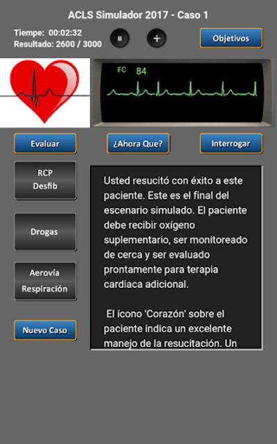 ACLS Simulador 2017 screenshot 19