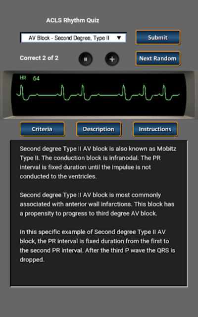 ACLS Rhythm Quiz screenshot 8