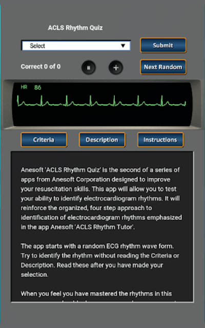 ACLS Rhythm Quiz screenshot 9