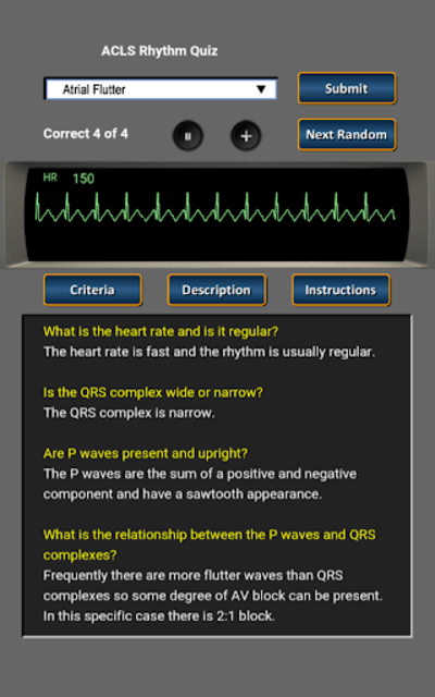 ACLS Rhythm Quiz screenshot 11