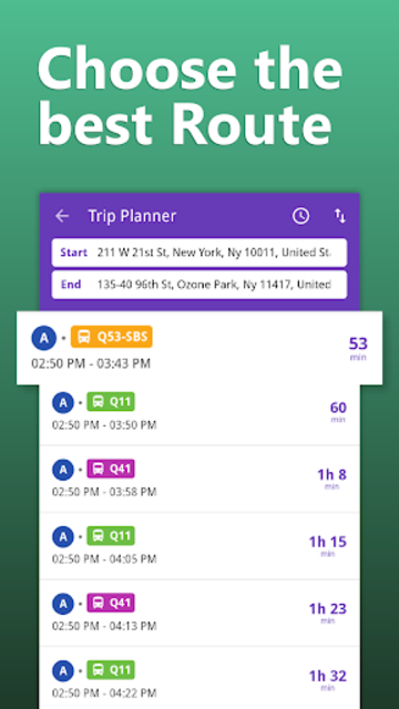 NYC Transit: MTA Subway, Rail, Bus Tracker screenshot 2