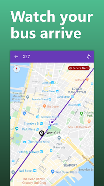 NYC Transit: MTA Subway, Rail, Bus Tracker screenshot 4