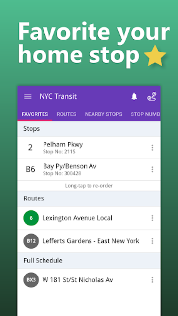 NYC Transit: MTA Subway, Rail, Bus Tracker screenshot 7