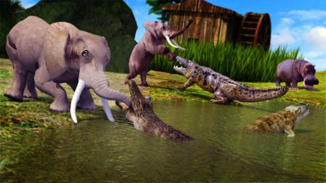 Animal Attack Simulator -Wild Hunting Games screenshot 4