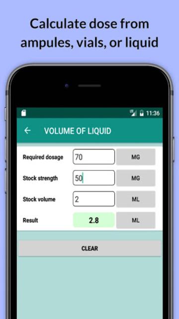 Easy Drug Dose Calculator screenshot 1
