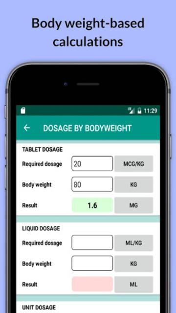 Easy Drug Dose Calculator screenshot 3